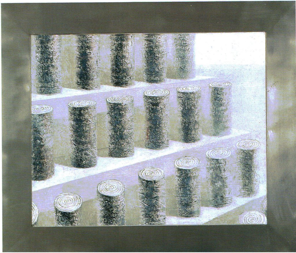 -Egos-serie Geografía- Òleo sobre tela-13x112 cm-1999-Jaime Sánchez Alonso